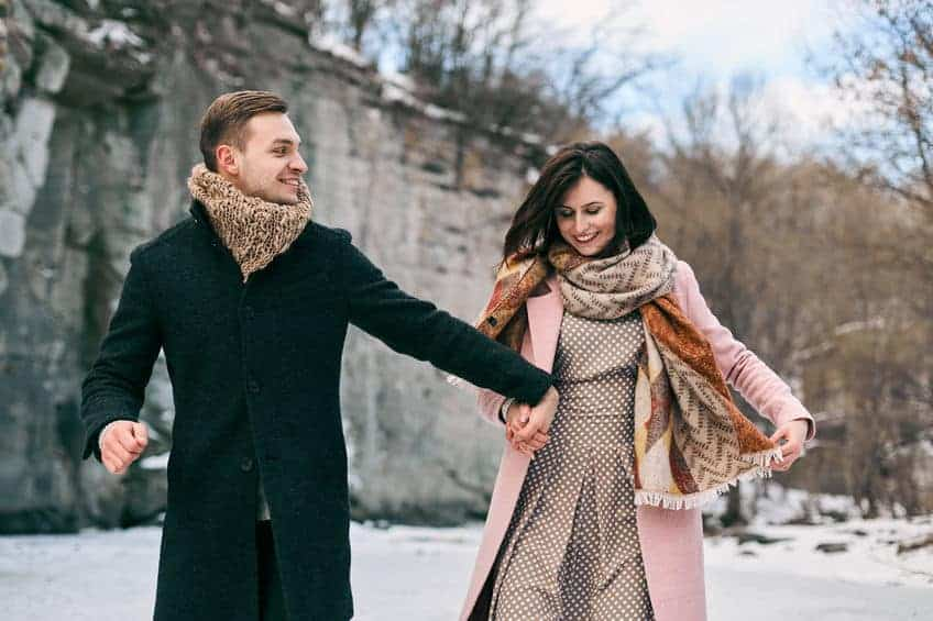 How to dress fashionably in winter